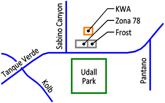 KWA Location Map
