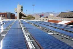 U of A Solar Cooling Absorption Chiller System